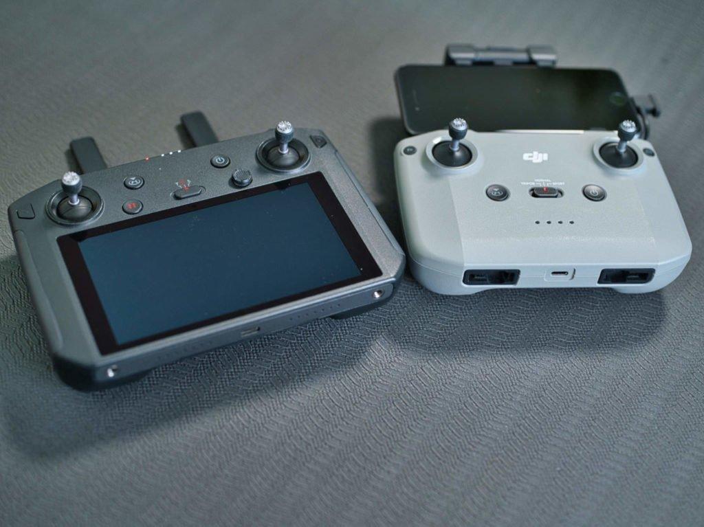 Controller und Smart Controller im Vergleich