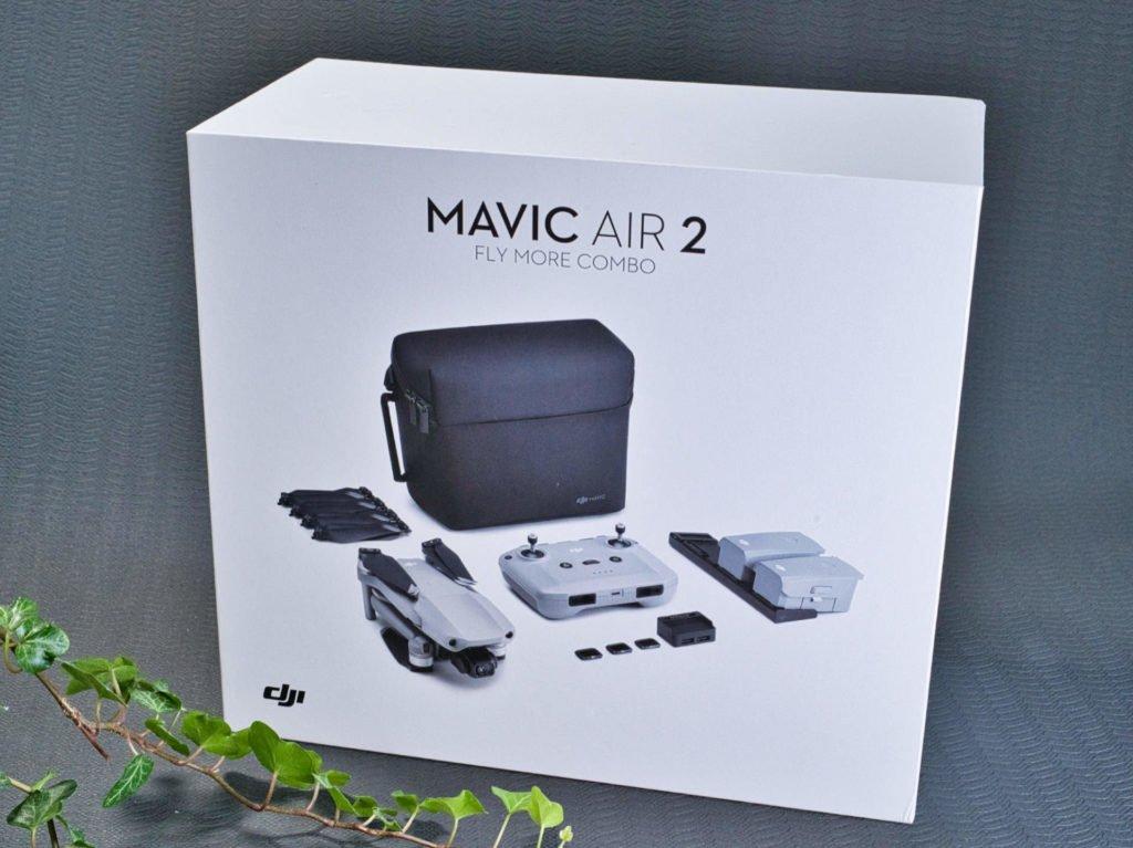 Mavic Air 2 Fly More Combo Verpackung