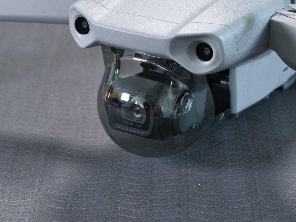 Der neue Gimbal-Schutz für die Kamera