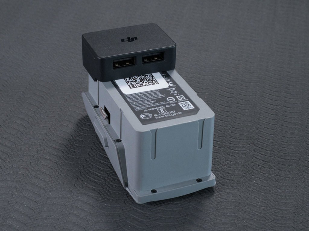 Der USB-Adapter im Powerbank-Betrieb