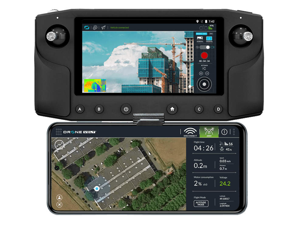 Drone Volt DV Control System