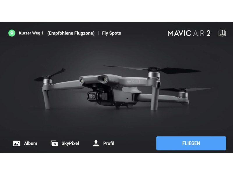DJI Fly App v1.1.6 veröffentlicht – Gimbal-Einstellungen für Mavic Air 2