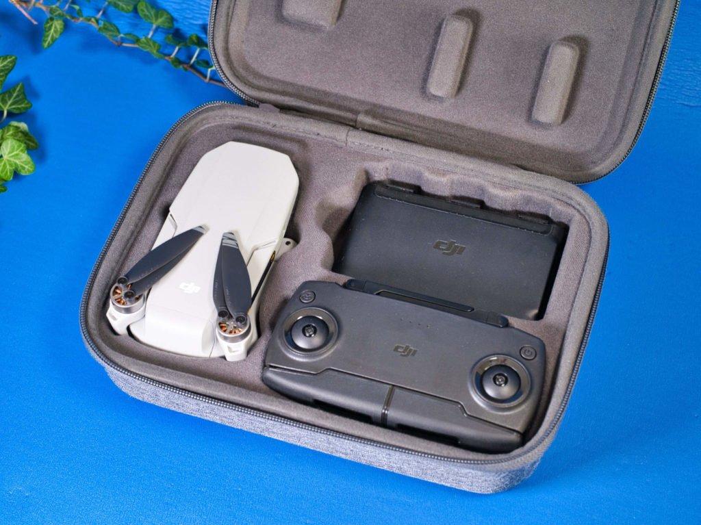 Mavic Mini, Akkus und Controller im Hardcase