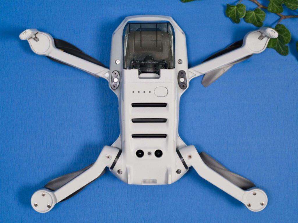 Mavic Mini Drohne Unterseite
