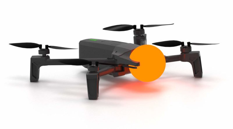 Parrot Anafi Dronisos Drohne mit Leuchtkugel