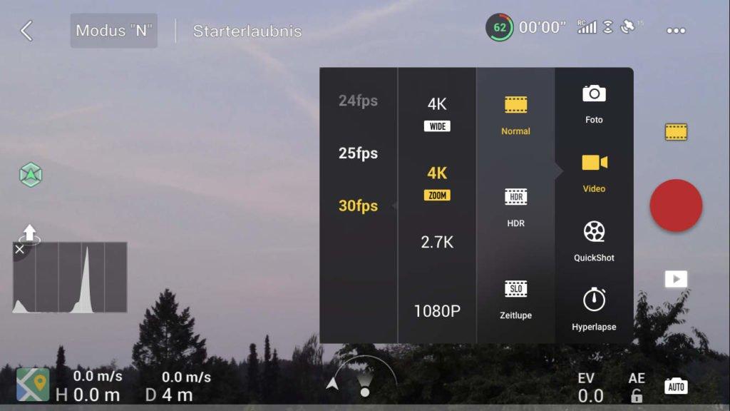 v01.00.0340 Firmware - neuer Zoom Modus