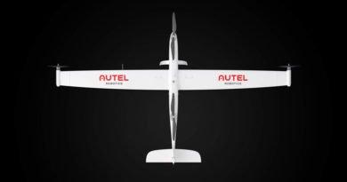 Autel Dragonfish UAV Draufsicht