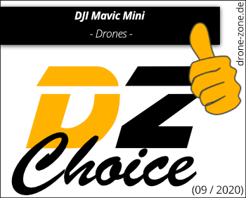 DJI Mavic Mini DZ Choice Award Web