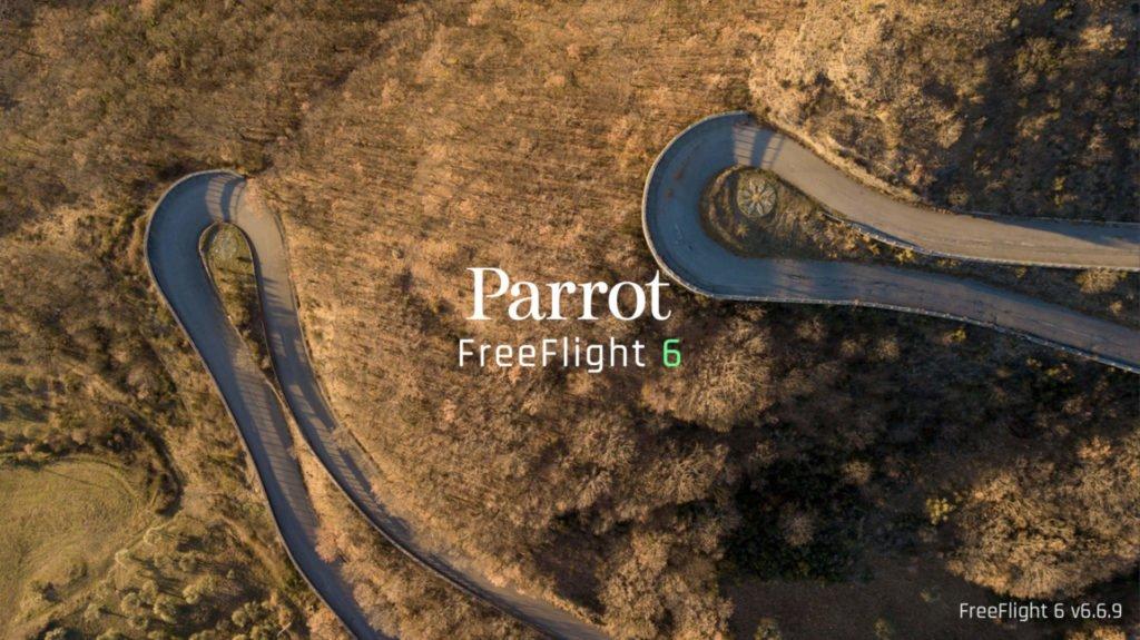 Parrot FreeFlight 6 Startscreen