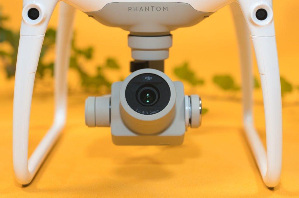 DJI Phantom 4 Pro V2.0 Kamera Closeup