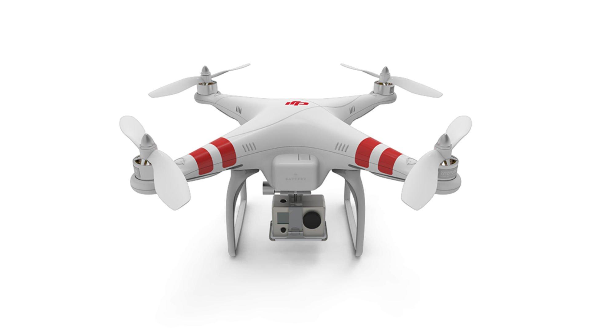 DJI Phantom Drohne mit GoPro Kamera