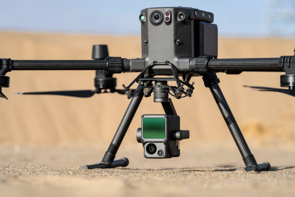 DJI Zenmuse L1 mit M300 RTK Drohne