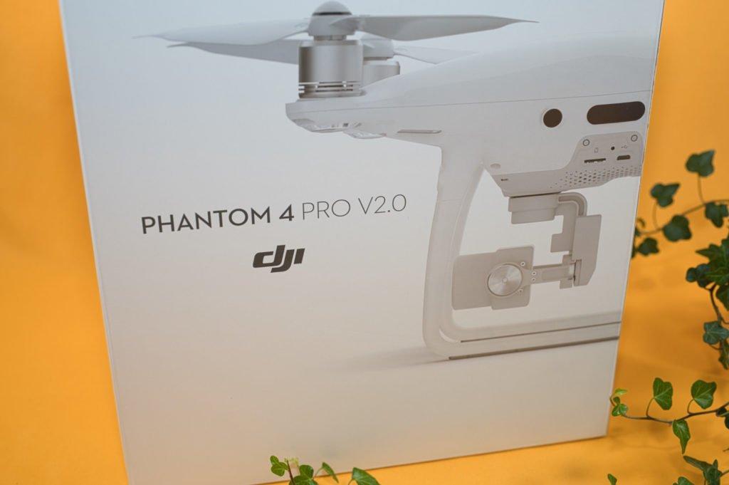 Die Box der P4P V2.0 Drohne