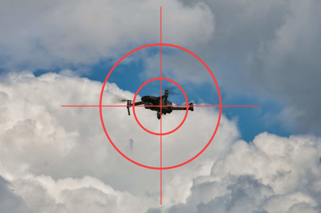 Fadenkreuz Drohne Anti-Drone Mavic 2