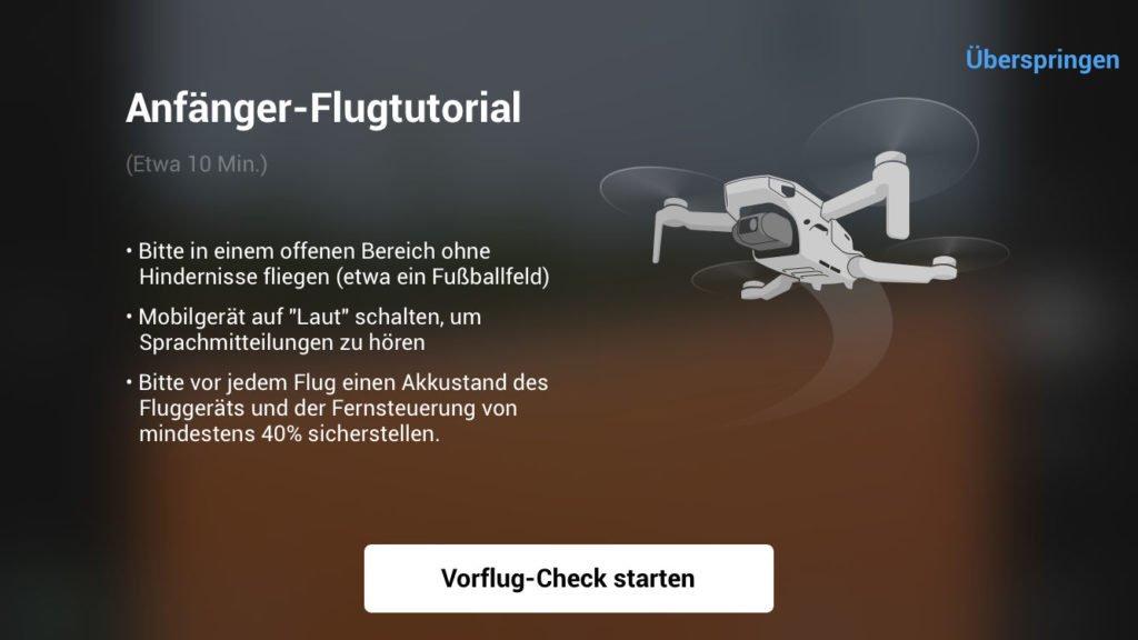 DJI Fly App Tutorial 1