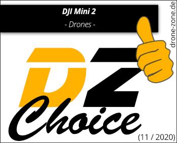 DJI Mini 2 DZ Choice Award Web