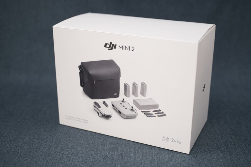 DJI Mini 2 Fly More Combo Box 1