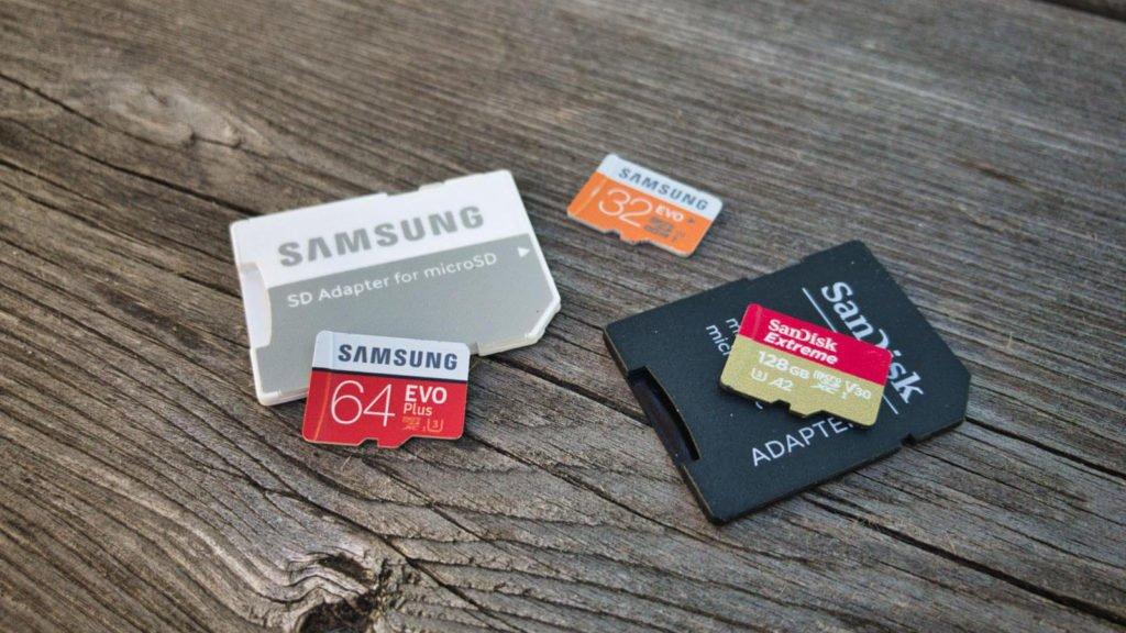 Drohnen Gadgets SD Karten microSD