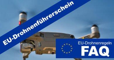 EU-Drohnenregeln Teaser EU-Drohnenführerschein