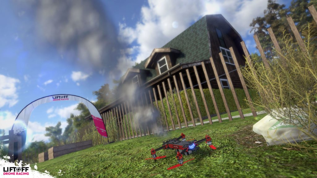 Liftoff Drone Racing Campaign - Physik
