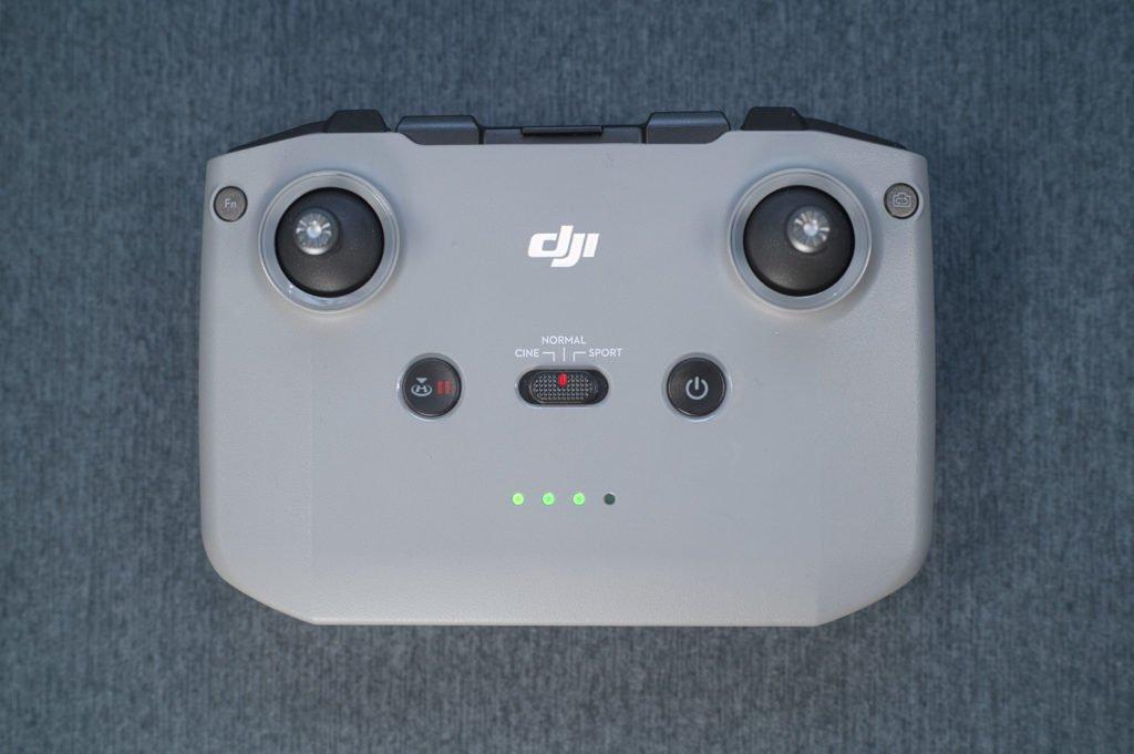 Mini 2 Controller RC231 Draufsicht