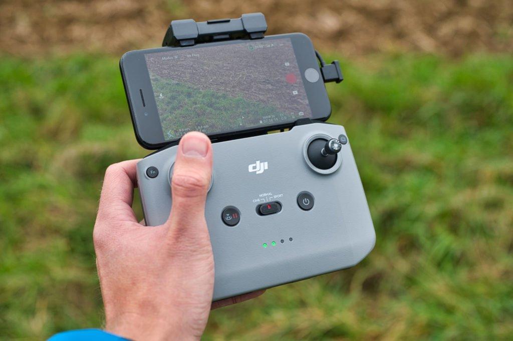 Mini 2 Controller im Betrieb