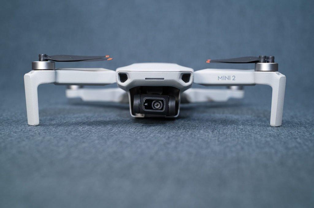 Mini 2 Kamera zentriert