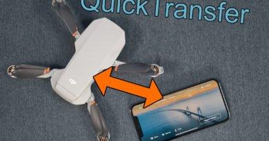 Guide: Aufnahmen mit DJI QuickTransfer übertragen (Fly App)