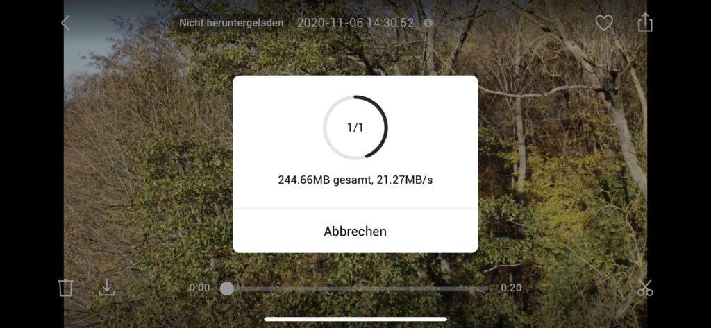 QuickTransfer Übertragung mit mehr als 20 MB pro Sekunde