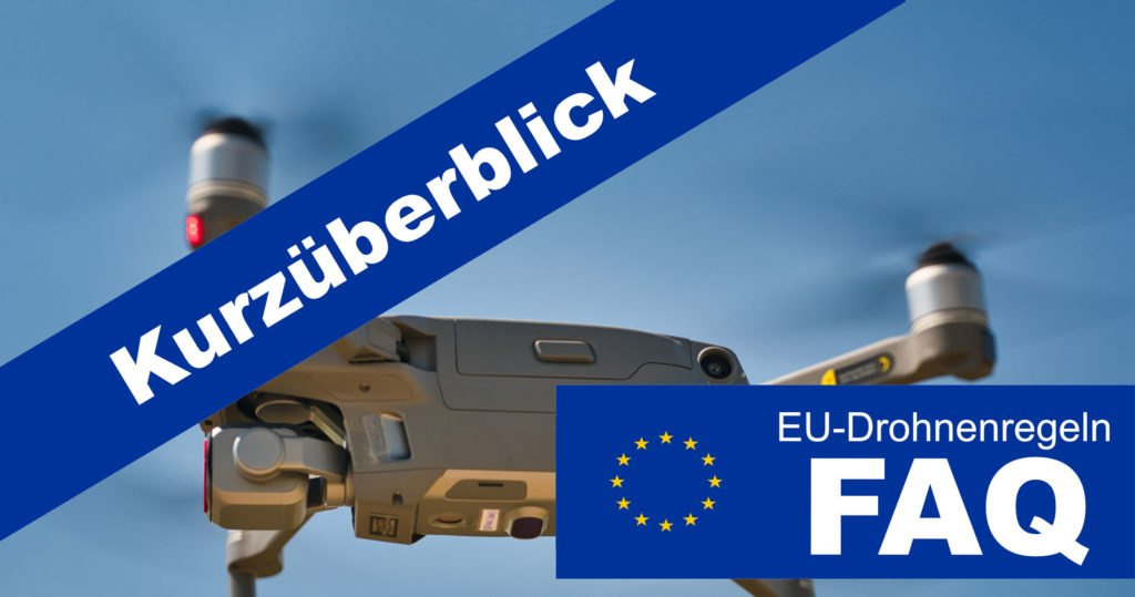 EU-Drohnenregeln Teaser