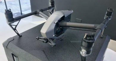DJI Inspire 2 Drohne ohne Propeller