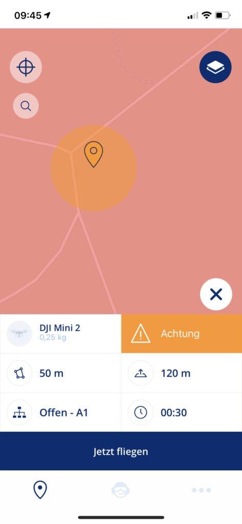 Droniq App Überblick