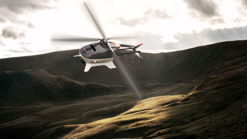 ANAVIA HT-100 UAV im Flug von Vorne - Image Source Anavia