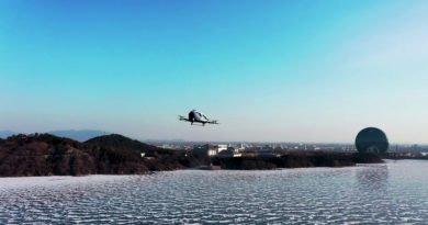 EH216 AAV Drohne über Peking