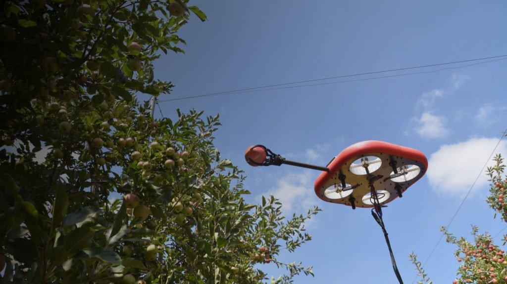 Tevel Picker Drohne in der Luft
