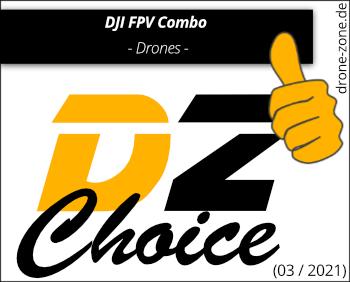 DJI FPV Combo DZ Choice Award Web