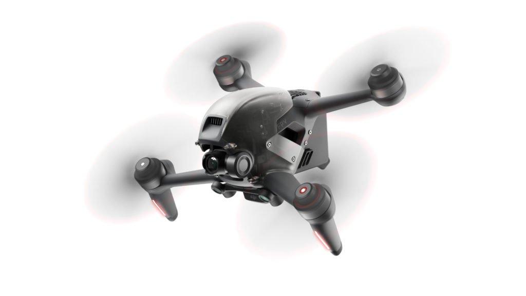 DJI FPV Drone im Flug
