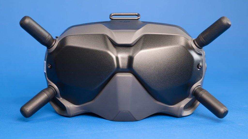Der Insekten-Look der FPV-Brille bleibt erhalten