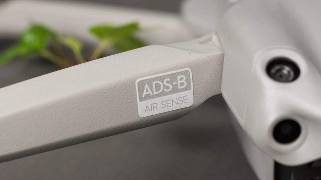 DIe DJI Air 2S ist mit AirSense ausgerüstet