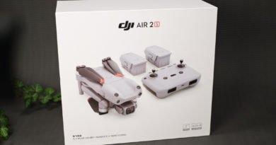 DJI Air 2S Fly More Combo Verpackung