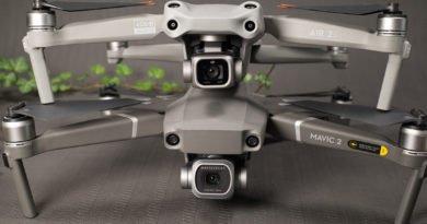 DJI Mavic 2 Pro und DJI Air 2S - Gestapelt von vorne