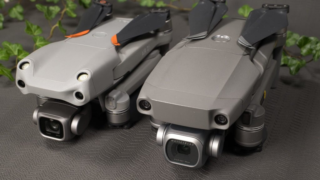 DJI Mavic 2 Pro und DJI Air 2S - Kameras