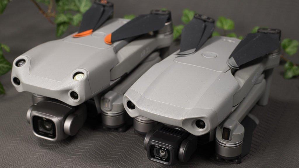 DJI Mavic Air 2 und DJI Air 2 S - Kameras
