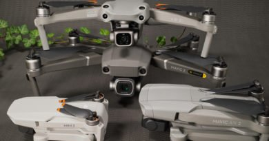 DJI Mini 2, DJI Air 2S, DJI Mavic Air 2 und DJI Mavic 2 Pro