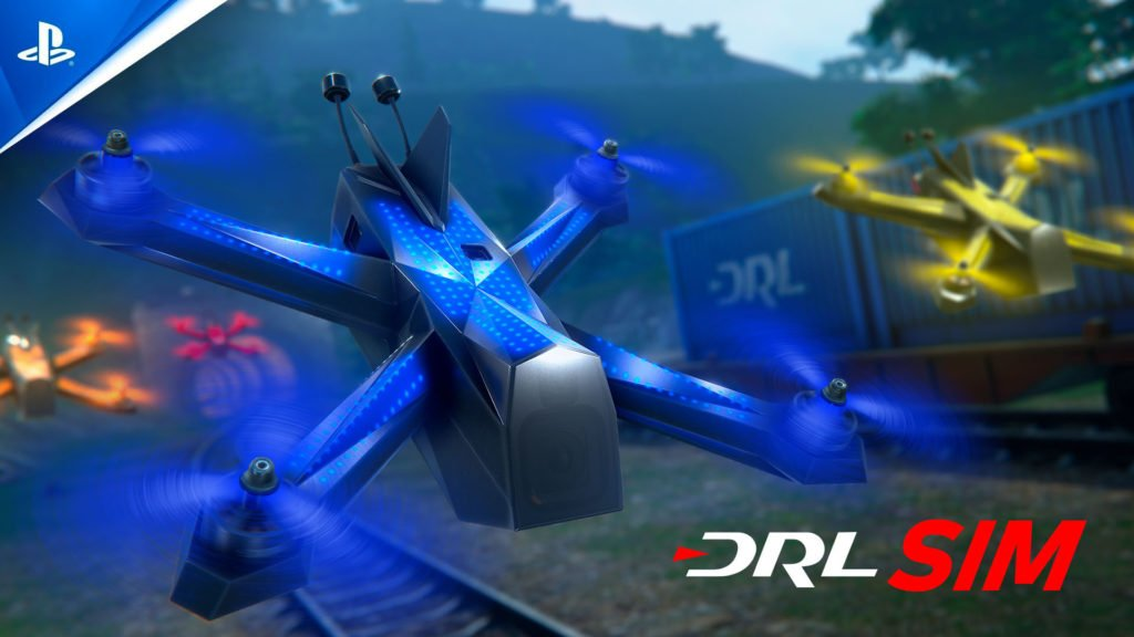 DRL Sim auf der PlayStation