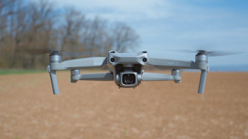 Der 1 Zoll Kamera der Drohne gehört die Show
