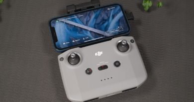 Die DJI Fly App auf dem iPhone 12 Pro