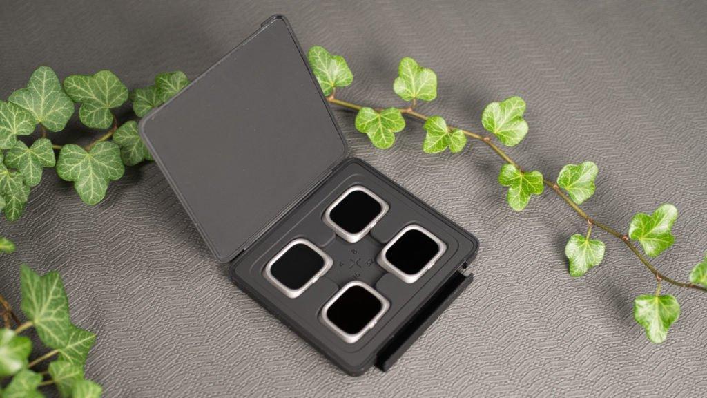 Die neuen ND-Filter in einer praktischen Verpackung
