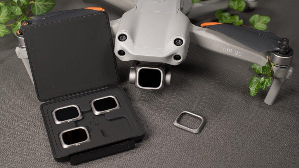 ND-Filter werden mit einem Bajonettanschluss fixiert