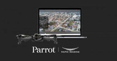 Parrot geht Partnerschaft mit Rapid Imaging ein